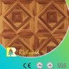 La cerise de texture de fibre de bois du ménage 12.3mm a ciré le plancher en stratifié bordé