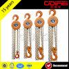 1t Manual Chain Blocks с Cast Safety Hook