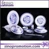Ensemble de table en porcelaine ronde à porcelaine