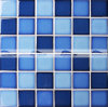 mattonelle di mosaico di ceramica lustrate cristallo della piscina di 48X48mm (BCK012)