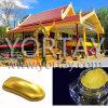Polvo real del pigmento de Pearlecent de la azotea del satén del oro de Tailandia