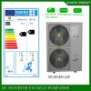 La sala 12kw/19kw/35kw del tester del riscaldamento di pavimento di inverno della Svezia -25c 100~350sq Automatico-Disgela il riscaldatore di acqua spaccato della pompa termica di CC di Evi