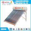 fabricante solar dos calefatores de água do projeto 250L novo preto