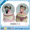 Венчание Snow Globe Bride и Groom для Decoration