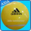 Balão inflável do hélio da cor amarela do PVC para anunciar
