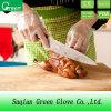 Passt jede Handnahrung Using transparente wegwerfbare PET Handschuhe