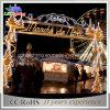 O diodo emissor de luz Certificated RoHS da luz de Natal do CE ilumina luzes do arco