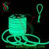 Luzes de tira de néon do cabo flexível do diodo emissor de luz do verde do brilho elevado