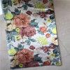 O poliéster 100% floresce a tela da impressão para a cortina