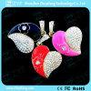 Movimentação bonito da pena do USB da jóia do projeto do pendente do coração (ZYF1921)