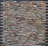 mosaico di madreperla del mattone 3D