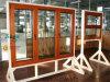 Finestra di alluminio di saga della finestra del telaio di nuovo disegno