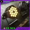 het LEIDENE van de 18PCS10W DJ Disco RGBW PARI kan Verlichting opvoeren