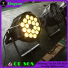 18PCS 10W DJ 디스코 RGBW LED 동위는 점화를 상연할 수 있다