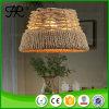 El cáñamo cuerda pendiente de la luz / lámpara / iluminación con estilo de la vendimia
