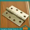 Charnière de porte d'acier inoxydable roulement à billes pour la porte en bois