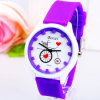 Relojes populares elegantes del movimiento de Japón de la venda del ABS