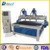 중국 공장 4 헤드 CNC 조각 기계 절단 나무 대패