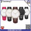 Relojes chinos de la manera Yxl-003 del estilo fino estupendo de Dw para los hombres, reloj del cuarzo del movimiento PC21 de Japón