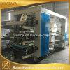 Impresora flexográfica de alta velocidad de 6 colores con el rodillo de cerámica