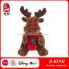Peluches de renne de jouet de peluche de cadeaux de Noël