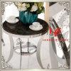 TISCH-Edelstahl-Möbel-Ausgangsmöbel-Hotel-Möbel-moderner Möbel-Tisch-Tisch- für Systemkonsoletee-Tisch-Seiten-Tisch des Kaffeetisch-(RS161304) Eck