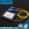 Divisor 2.0mm do PLC do módulo do ABS 1*2 com conetor do Sc