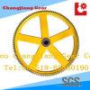 Крася распыляя колесо цепного цепного колеса ролика двойника чугуна Китая транспортера