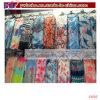 수채화 물감 양귀비 여자 숄 포장 실크 시퐁 스카프 (C1002)