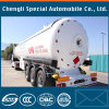 De Semi Aanhangwagen van de Vrachtwagen van de Tanker van het Vervoer van LPG/de Aanhangwagen van de Gashouder