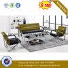 $288 sofá de cuero de la sala de estar 1+2+3 modernos superventas (HX-CS076)