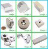 N35 D12*2mm Zink-Beschichtung-starker permanenter Platten-Neodym-Magnet