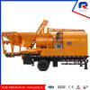 Bomba concreta hidráulica do misturador do grupo com o gerador de 100kw Commins