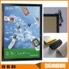 가벼운 상자 전시를 광고하는 알루미늄 관례를 설치하게 쉬운