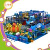 Escalada canal de juegos Zona de juegos cubierta suave de PVC Esponja Humor Infantil de Juguetes de fibra de vidrio