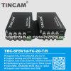 8CH Video zu Fiber Video Transceiver-Tbc-Sf8V1d