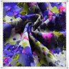 Polyester 100% Printed Chiffon Fabric pour Women Dress