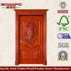 Portello interno di legno solido di alta qualità per la casa (XS2-020)