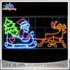 Luz impermeable del adorno del trineo del reno de la Navidad de la luz de la decoración del día de fiesta