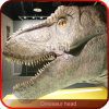 Testa artificiale del dinosauro di alta qualità di telecomando