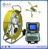 système d'appareil-photo d'inspection de pipe de télévision en circuit fermé de câble de tige pousseuse de 60m
