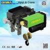 élévateur électrique de type européen de câble métallique 3ton (inférieur-espace libre)