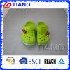 Zapatos ligeros lindos verdes con un coche para los muchachos (TNK90004)