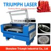 Le graveur en bois de laser ouvre la machine de gravure de laser pour le bois en pierre en verre fabriqué en Chine