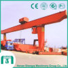 Trolley를 가진 L Type Single Girder 30 Ton Gantry Crane