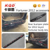 Высокое качество ABS Rear Bumper Guard для Тойота Fortuner Accesorios Rear Bumper Plate Fortuner Body 2016 Kit Rear Bumper Guard