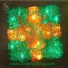 Зеленый свет коробки подарка СИД для рождества