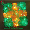 Grüne LED Gift Box Light für Christmas