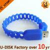 Do Wristband oco do silicone dos esportes vara instantânea do USB (YT-6309L)