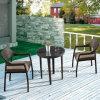 Presidenza accatastabile & Tabella di buona qualità del giardino della mobilia di alluminio di vimini esterna comoda del rattan Using sala da pranzo & il ristorante (YT581)